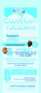"""Pre-classic Event """"Twitter Tuesdays"""" hosted by Vic The Mayor"""
