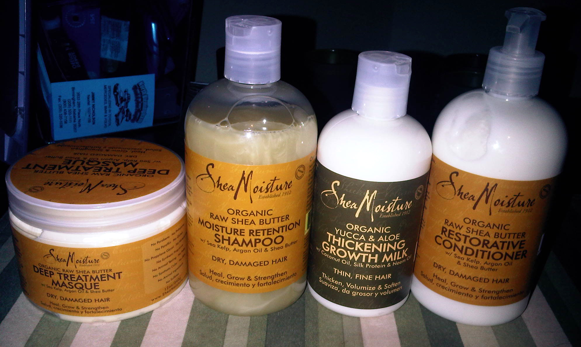 My mom will be using and reviewing these products